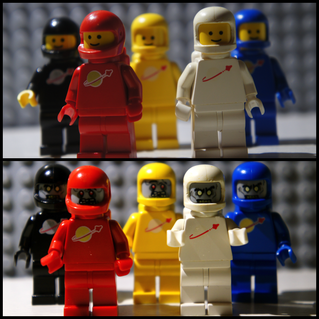 Retro LEGO –Re-Mix