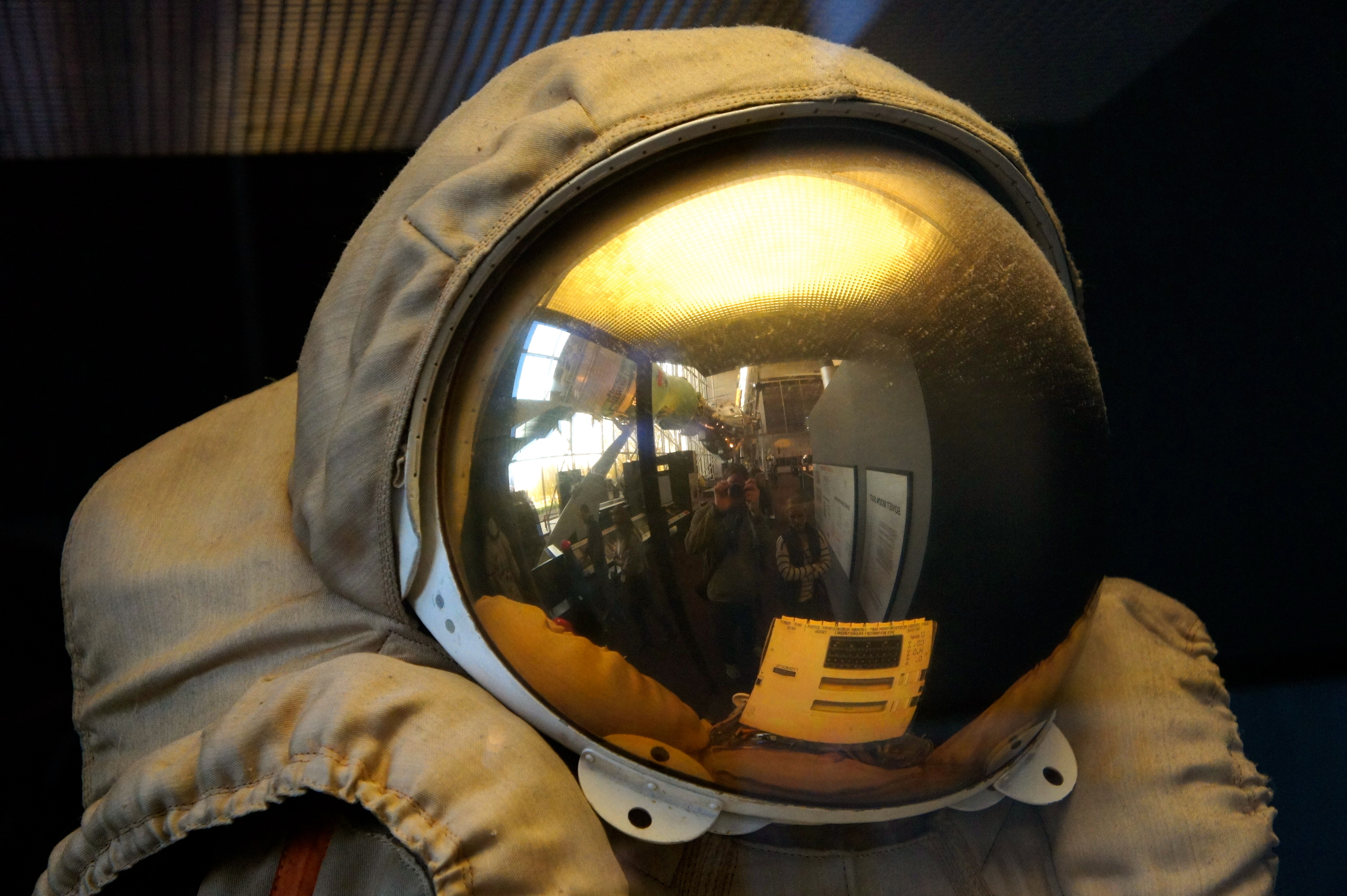 Space Helmet – Self Portrait