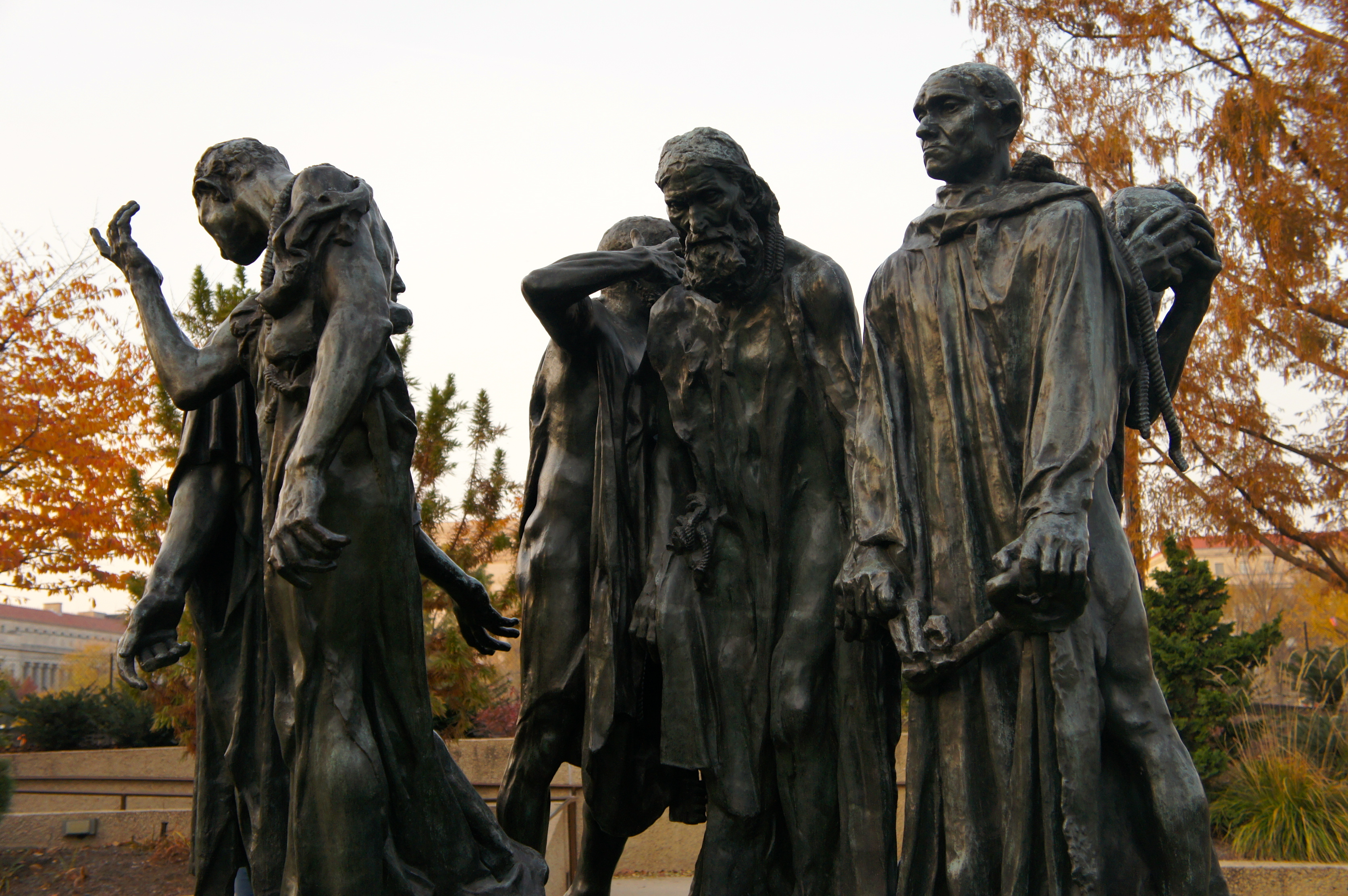 The Burghers of Calais – Hirshhorn Museum and Sculpture Garden