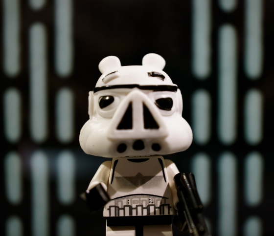 Angry Stormtrooper