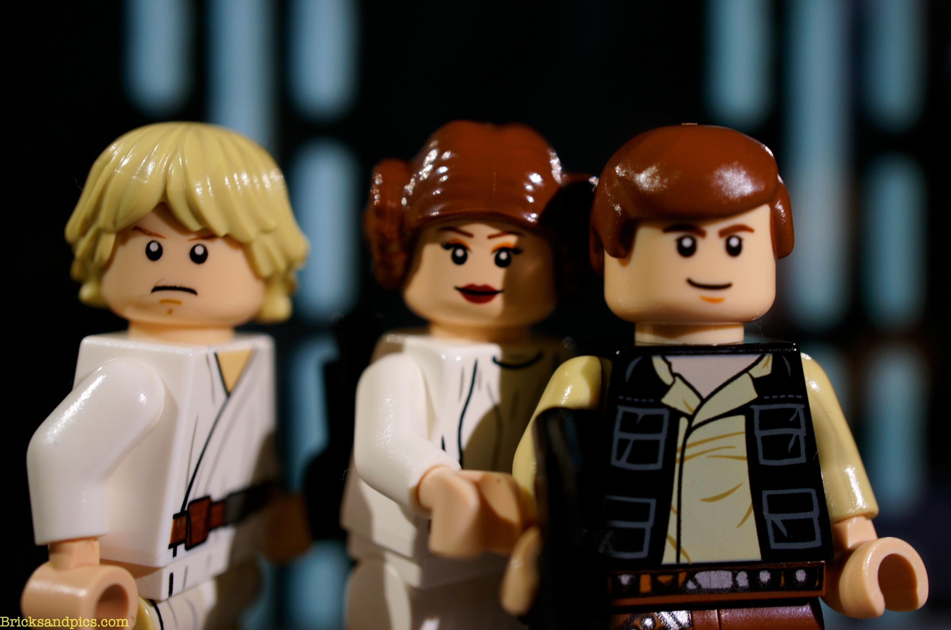 Luke, Leia andSolo