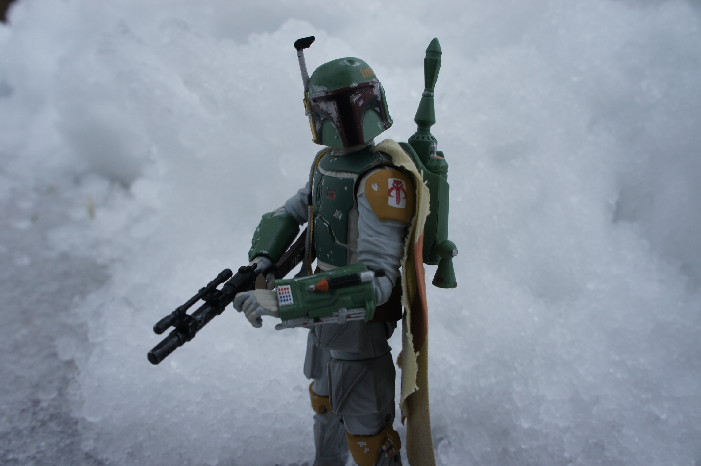 I call this… Fett in thesnow