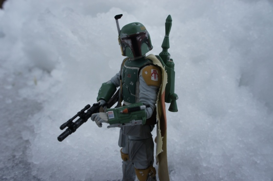 Boba in the Snow